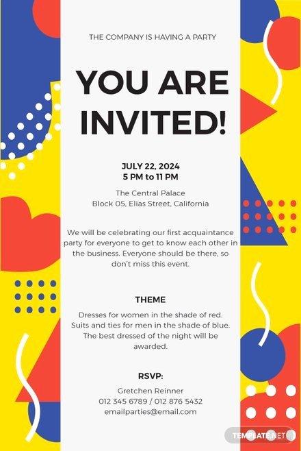 Garden Party Invitation Template Fresh Free Garden Party Invitation Template In Microsoft Word