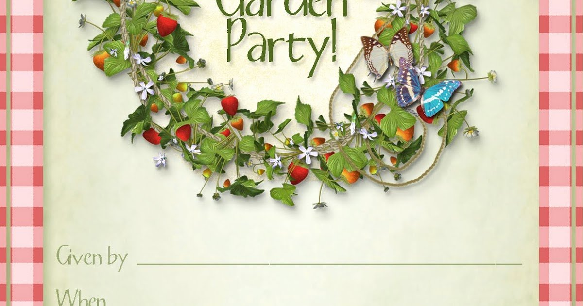 Garden Party Invite Template Awesome Party Planning Center Free Printable Summer Garden Party