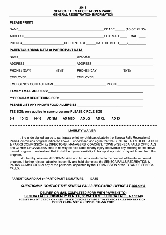 General Liability Waiver form Template Elegant top 21 General Liability Waiver form Templates Free to