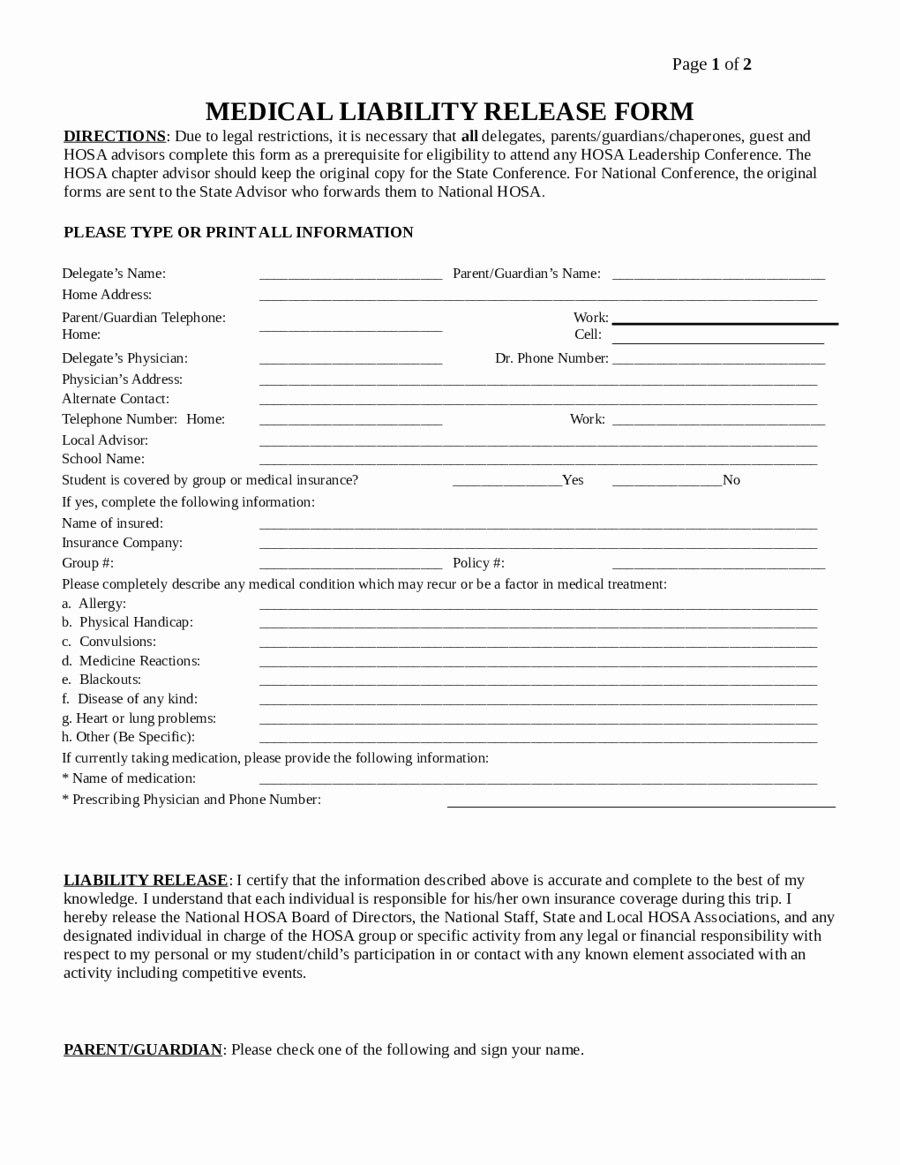 General Liability Waiver form Template Fresh 2019 assignment Of Deed Of Trust form Fillable
