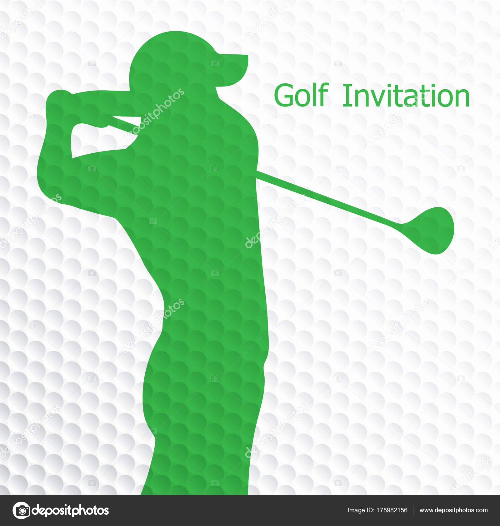 Golf Invitation Template Free Download Inspirational Golf tournament Invitation Flyer Template Graphic Design
