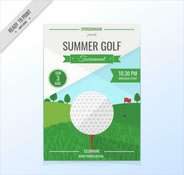 Golf Outing Invitation Template New 47 Sample Invitation Flyers Psd Eps Ai