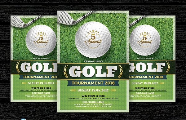 Golf tournament Invitation Template Best Of 29 Invitation Flyer Templates Free & Premium Download