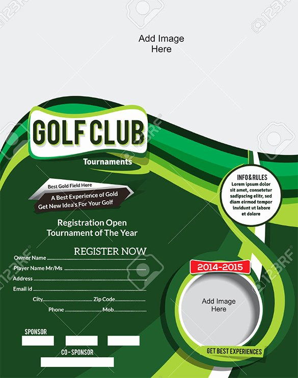 Golf tournament Invitation Template Fresh 25 Fabulous Golf Invitation Templates & Designs