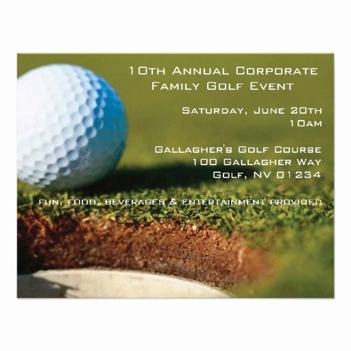 Golf tournament Invitation Template Luxury 17 Best Images About Golf events On Pinterest