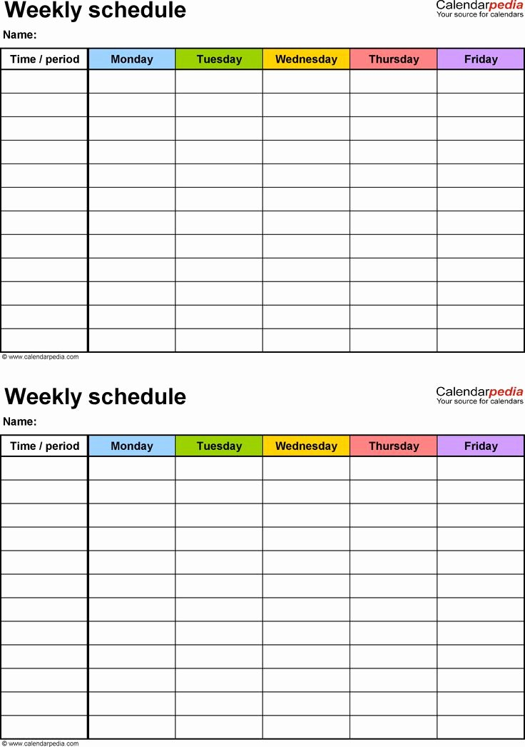 Google Docs Employee Schedule Template New Weekly Schedule Template Google Docs – Planner Template Free