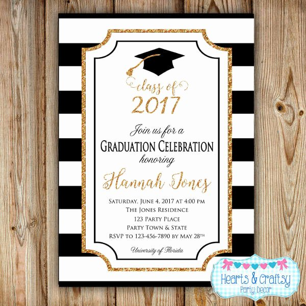 Graduation Dinner Invitation Template Elegant 49 Graduation Invitation Designs & Templates Psd Ai