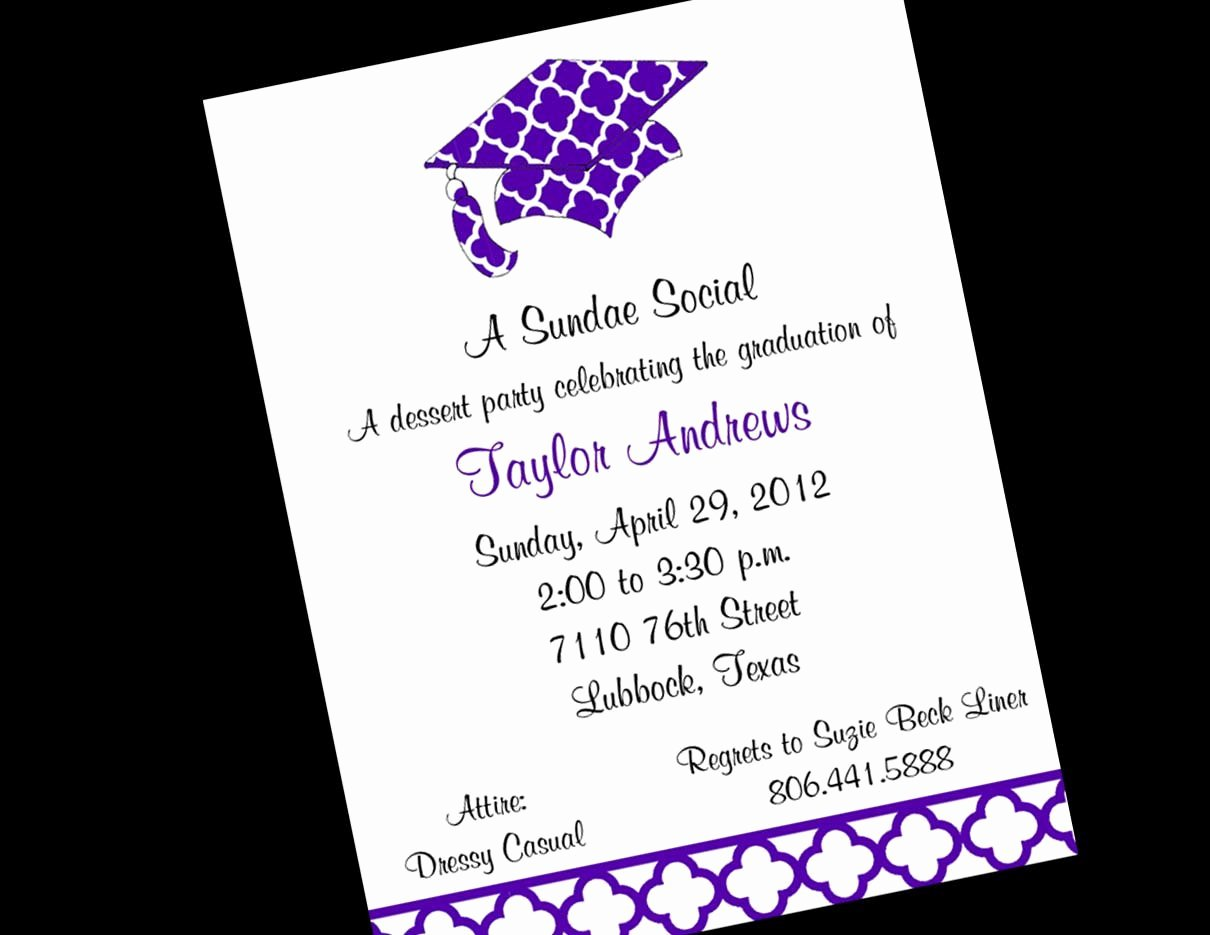 Graduation Dinner Invitation Template New Graduation Dinner Invitation Templates