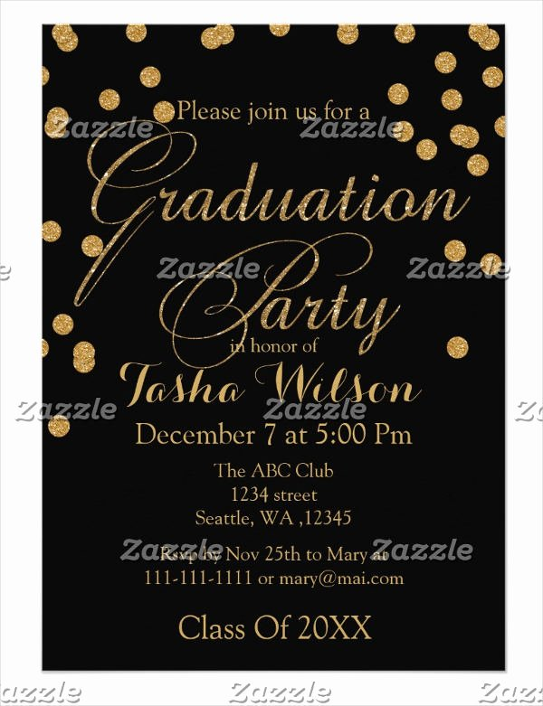 Graduation Dinner Invitation Template Unique 34 Sample Invitation Templates Psd Ai