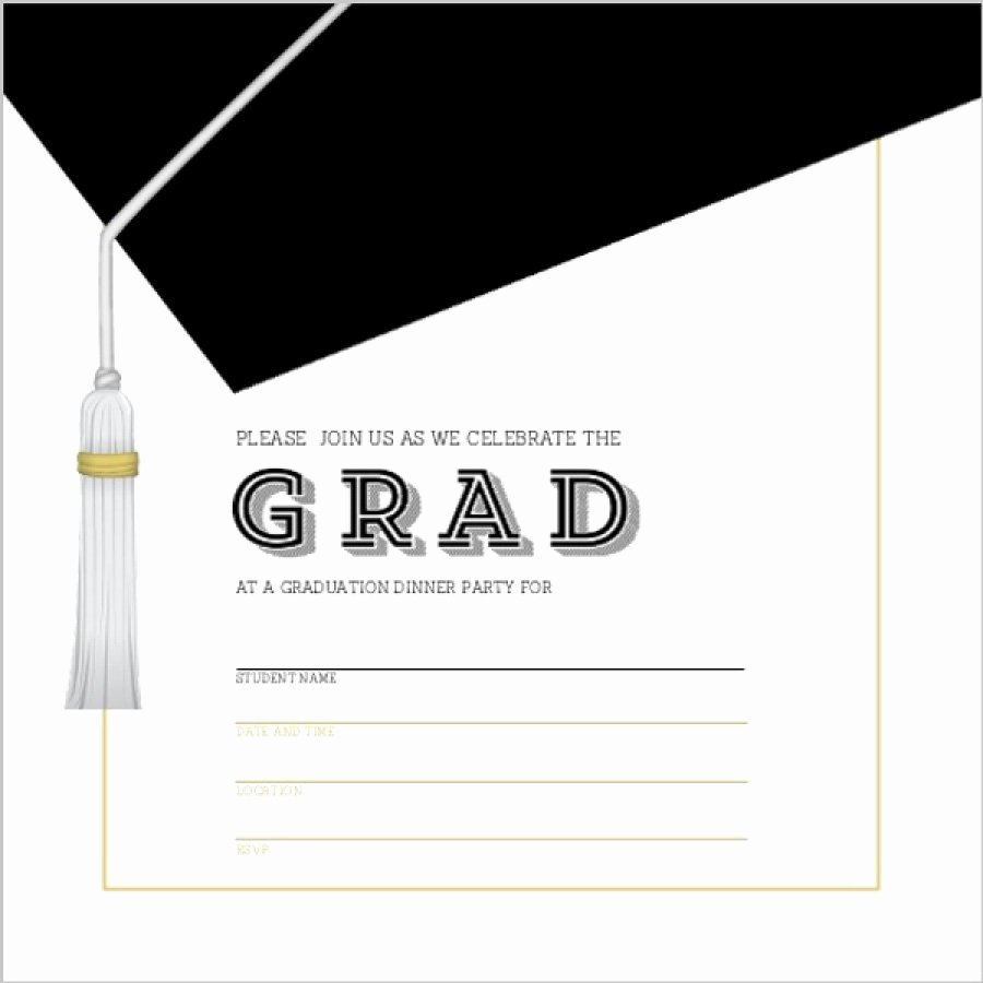 Graduation Party Invitation Template Free Beautiful 40 Free Graduation Invitation Templates Template Lab