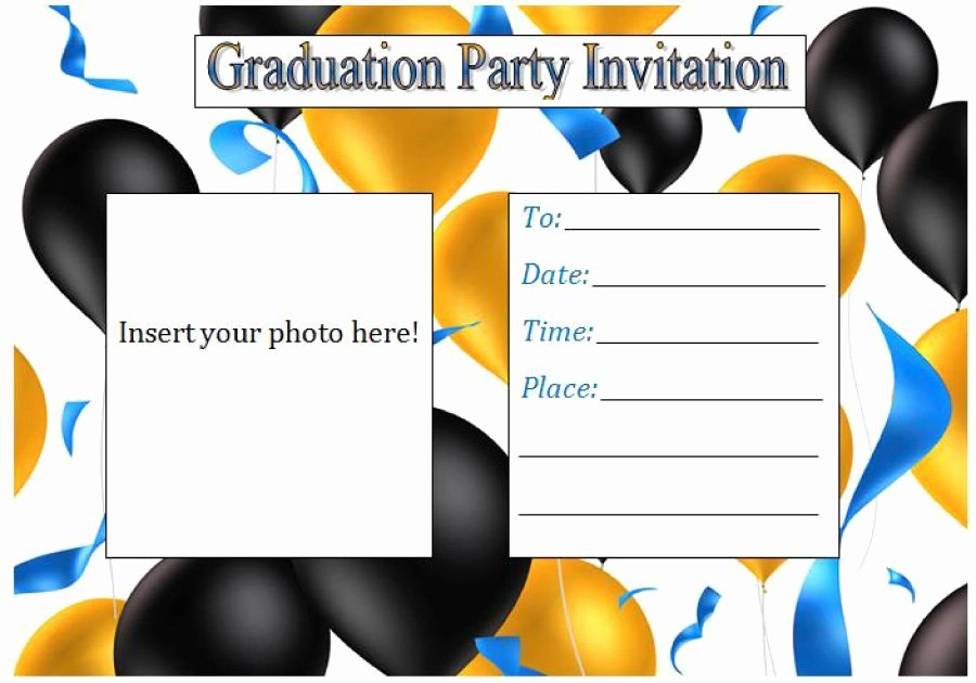 Graduation Party Invitation Template Free Elegant 40 Free Graduation Invitation Templates Template Lab
