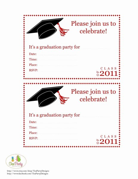 Graduation Party Invitation Template Free Elegant Fun and Facts with Kids Graduation Diy Party Ideas and