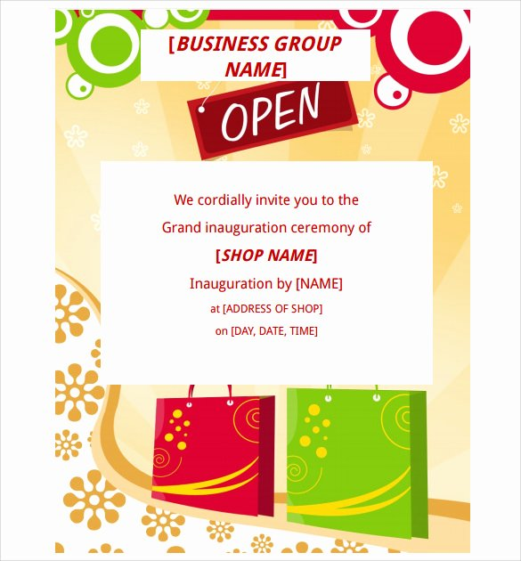 Grand Opening Invitation Template Free Awesome 28 Grand Opening Flyer Templates Psd Docs Pages Ai