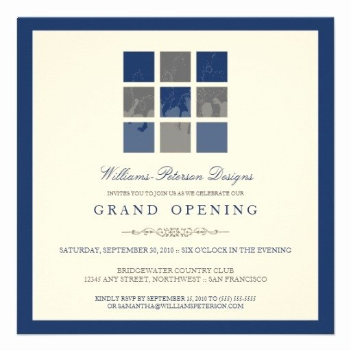 Grand Opening Invitation Template Free Elegant 10 Best Business Open House Images On Pinterest
