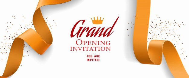 Grand Opening Invitation Template Free Fresh Opening Invitation Vectors S and Psd Files