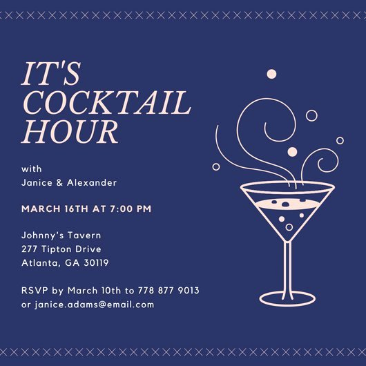 Happy Hour Invitation Template Fresh Customize 242 Happy Hour Invitation Templates Online Canva