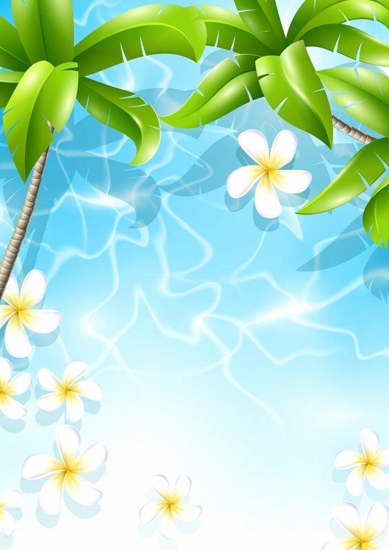 Hawaiian themed Invitation Template Fresh Used for Luau Flyer Invitation Tropical Background