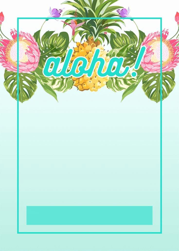 Hawaiian themed Invitation Template Inspirational 314 Best Images About Hawaiihula On Pinterest