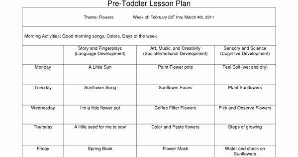Head Start Lesson Plan Template Beautiful Creative Curriculum Blank Lesson Plan