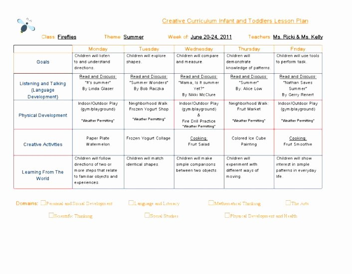 Head Start Lesson Plan Template Fresh Teacher Lesson Plan Free Head Start Lesson Plan Template