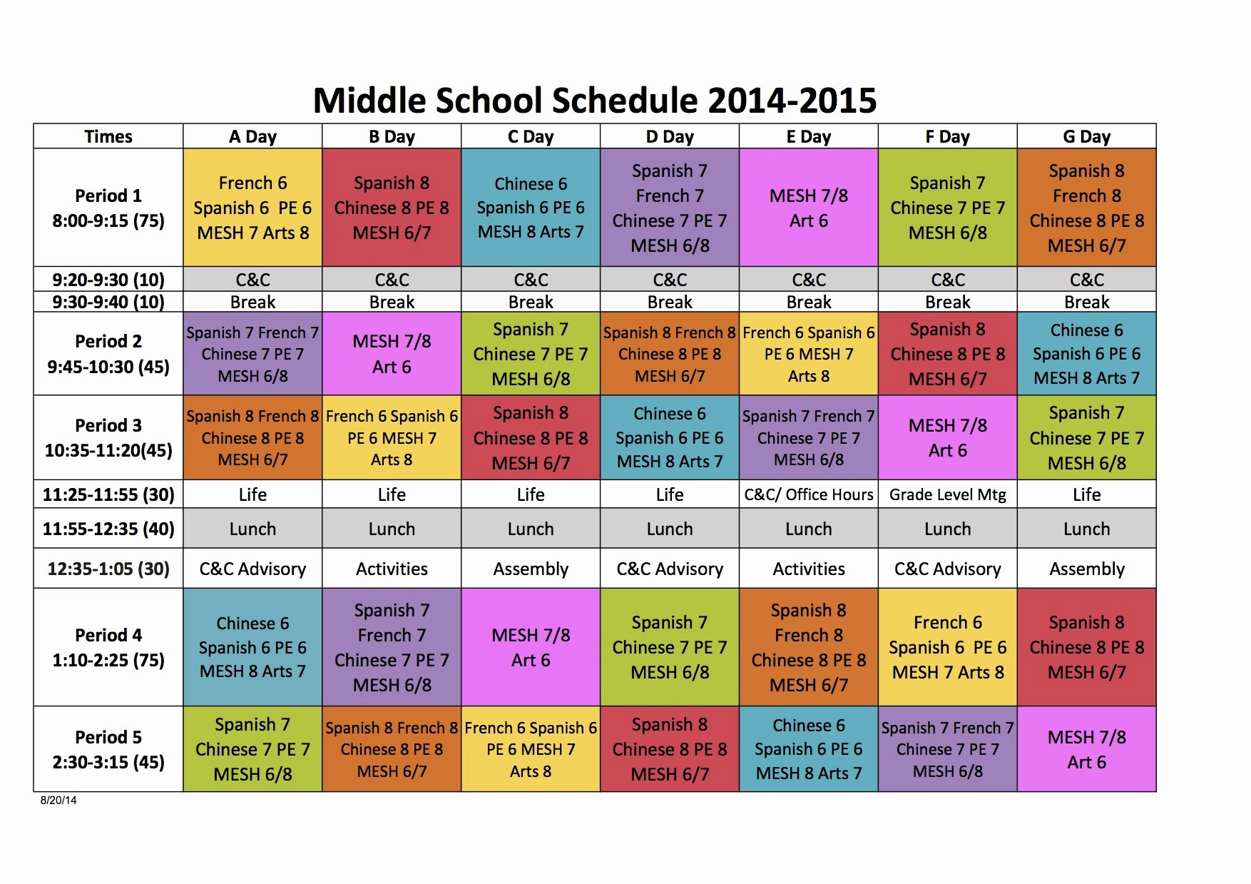 High School Schedule Template Elegant Quotes About Block Scheduling 26 Quotes