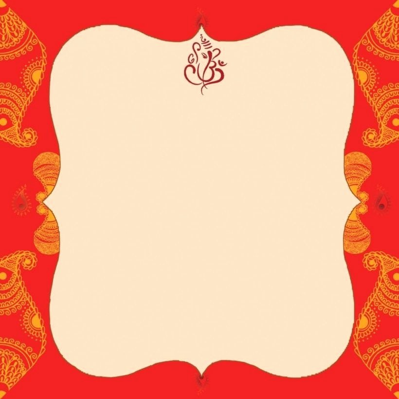 Hindu Wedding Invitation Template Beautiful Blank Indian Wedding Invitation Templates
