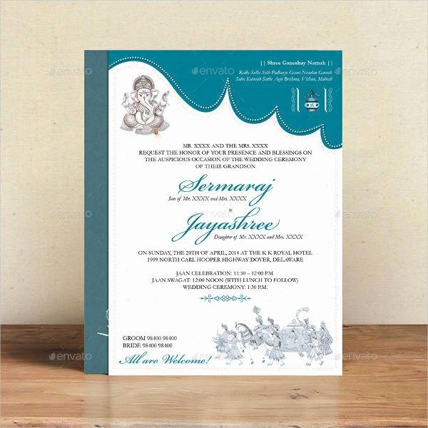 Hindu Wedding Invitation Template Best Of 36 Sample Invitation Template Download