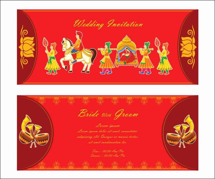 Hindu Wedding Invitation Template Lovely 10 Awesome Indian Wedding Invitation Templates You Will Love
