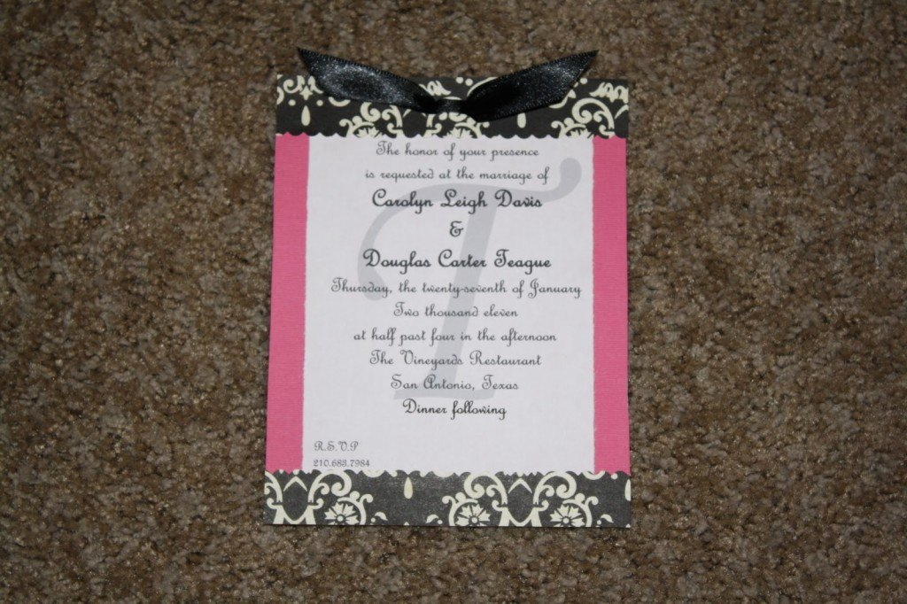 Hobby Lobby Wedding Invitations Template Awesome Hobby Lobby Wedding Invitation Templates