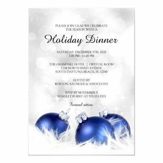 Holiday Dinner Invitation Template Awesome Holiday Dinner Invitation Christmas Dinner Party