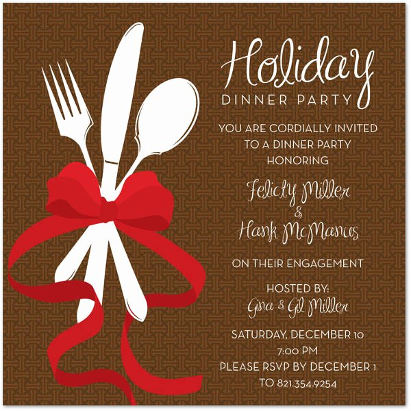 Holiday Dinner Invitation Template Inspirational the 21 Best Ideas for Christmas Dinner Invitation Most