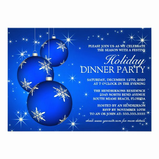 Holiday Dinner Invitation Template New Holiday Dinner Party Invitation Template