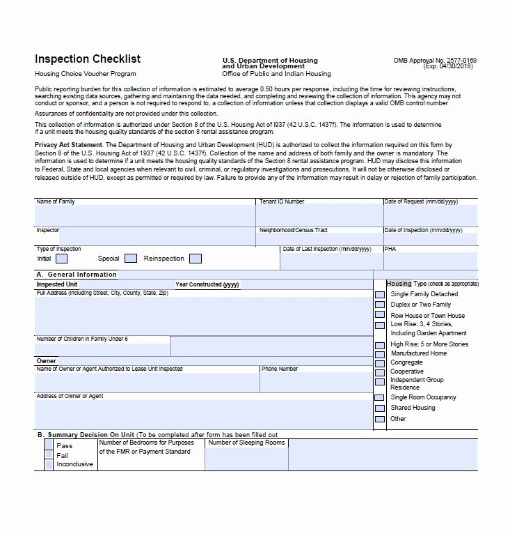 Home Inspection form Template Beautiful 20 Printable Home Inspection Checklists Word Pdf