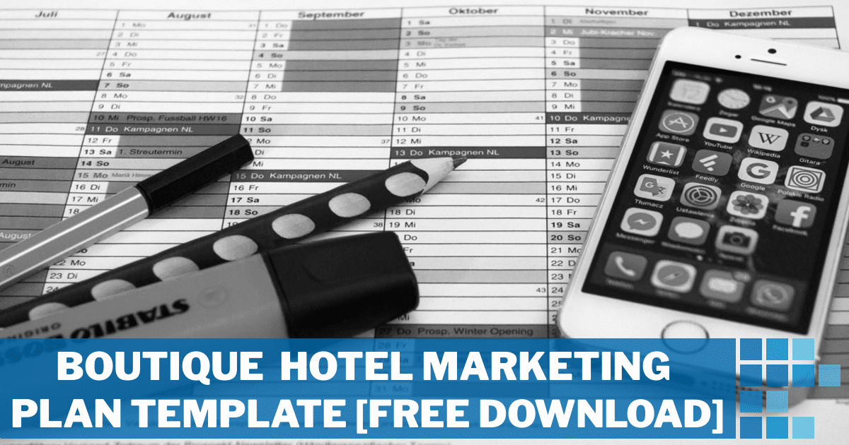 Hotel Marketing Plan Template Best Of Boutique Hotel Marketing Plan Template [free Download