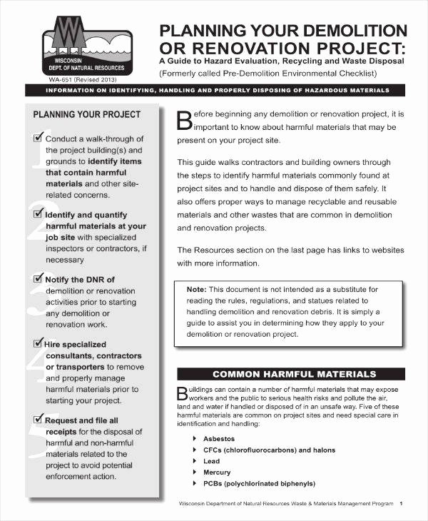 House Renovation Project Plan Template Beautiful 5 Home Renovation Project Plan Templates Pdf Word
