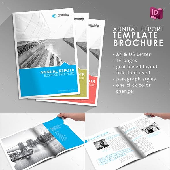 Indesign order form Template Beautiful Annual Report Indesign Graphics Designs & Templates