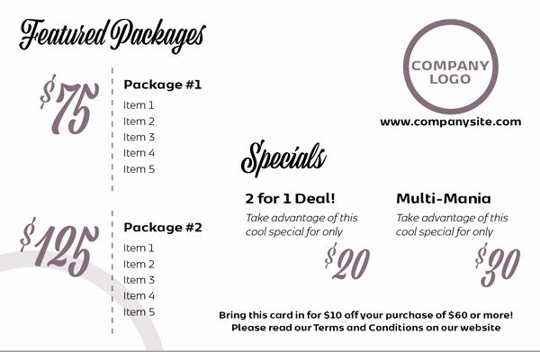 Indesign order form Template Fresh Indesign Template Of the Month Price List & order form