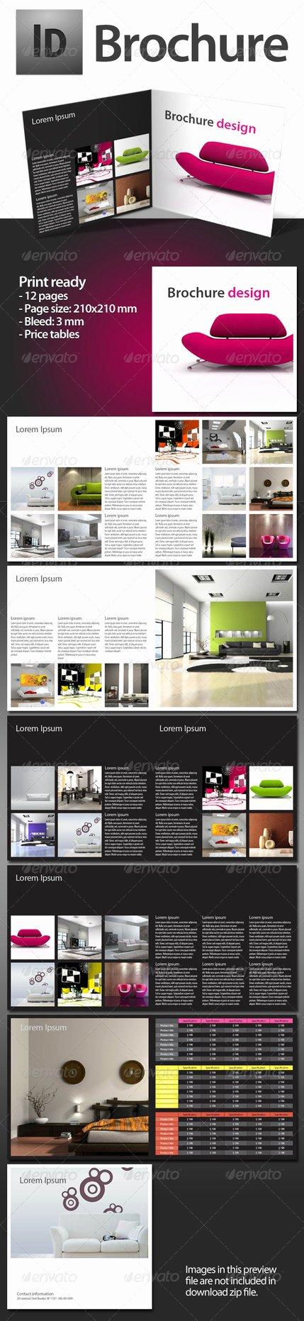Indesign order form Template Lovely Brochure Indesign Template by bydj On Deviantart