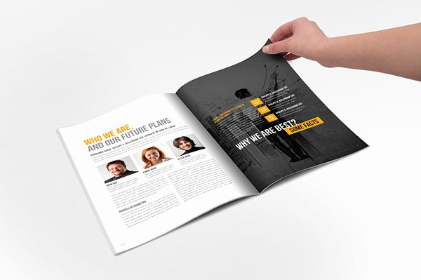 Indesign order form Template New Annual Repotr 2015 Indesign Template On Behance