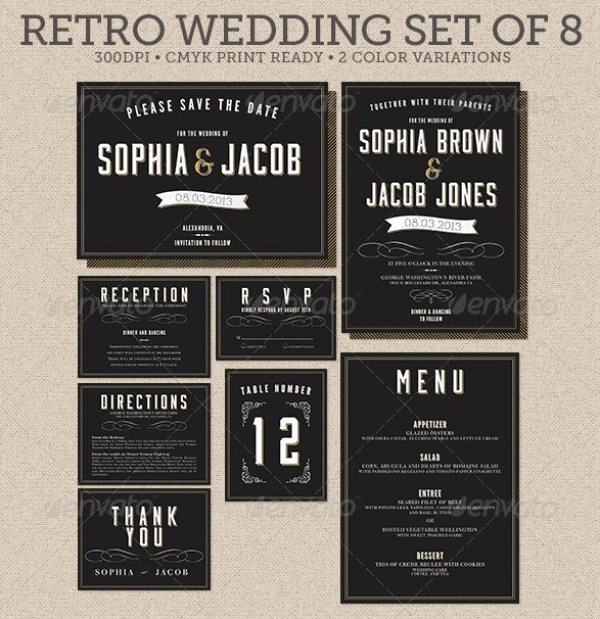 Indesign Wedding Invitation Template Awesome 37 Awesome Psd & Indesign Wedding Invitation Template