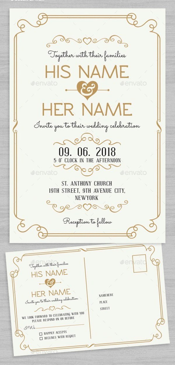 37 awesome psd indesign wedding invitation template designs for weddings