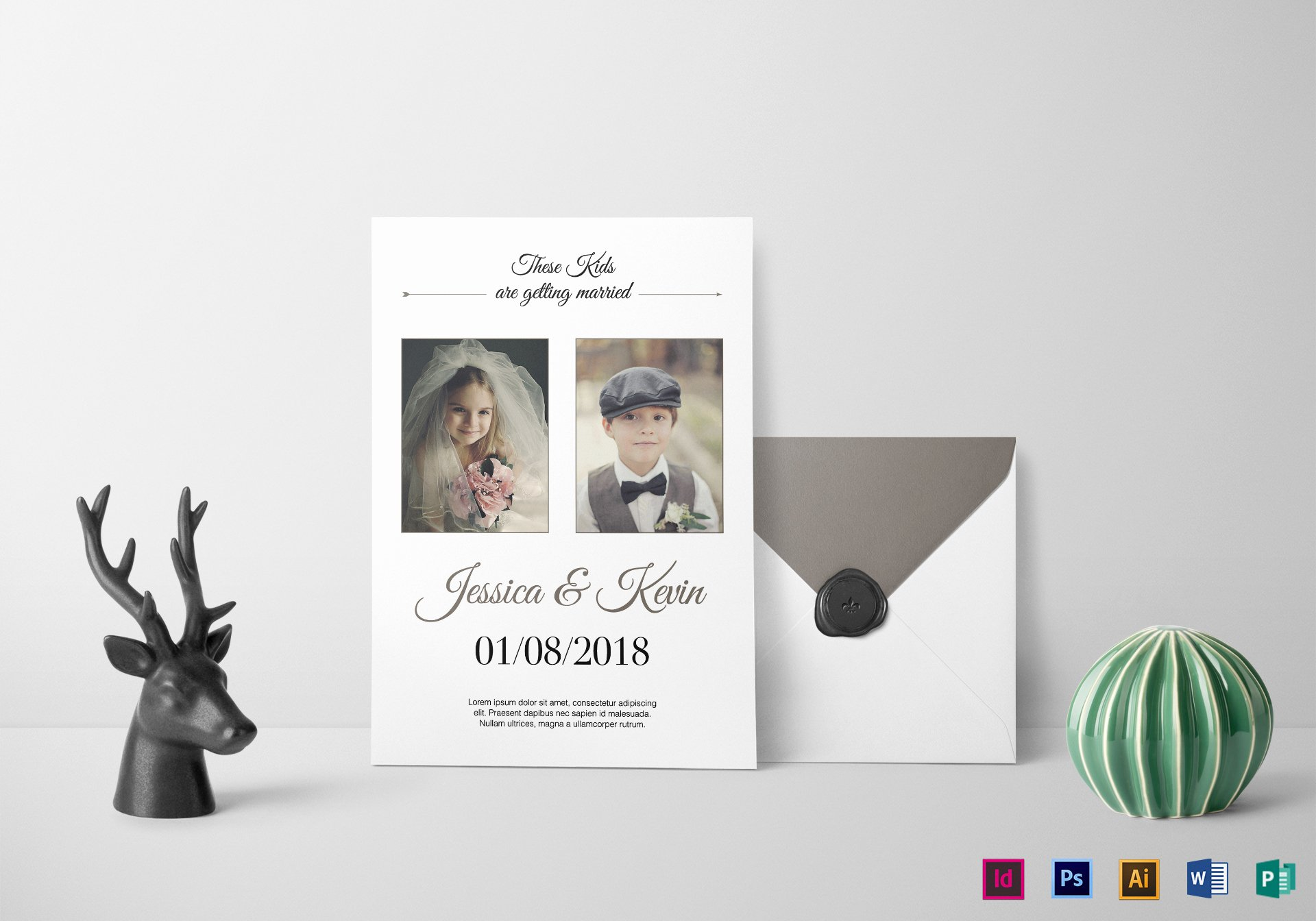 Indesign Wedding Invitation Template Inspirational Funny Wedding Invitation Design Template In Psd Word