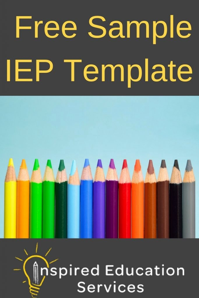 Individual Education Plan Template Unique Free Sample Iep Template What is An Individual Education