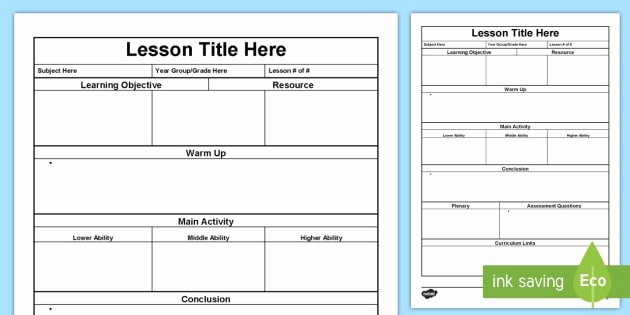 Integrated Lesson Plan Template Best Of Lesson Plan Template Lesson Plan Australia Planning