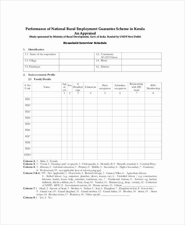 Interview Schedule Template Excel Elegant Sample Schedule 47 Examples In Pdf Word Excel