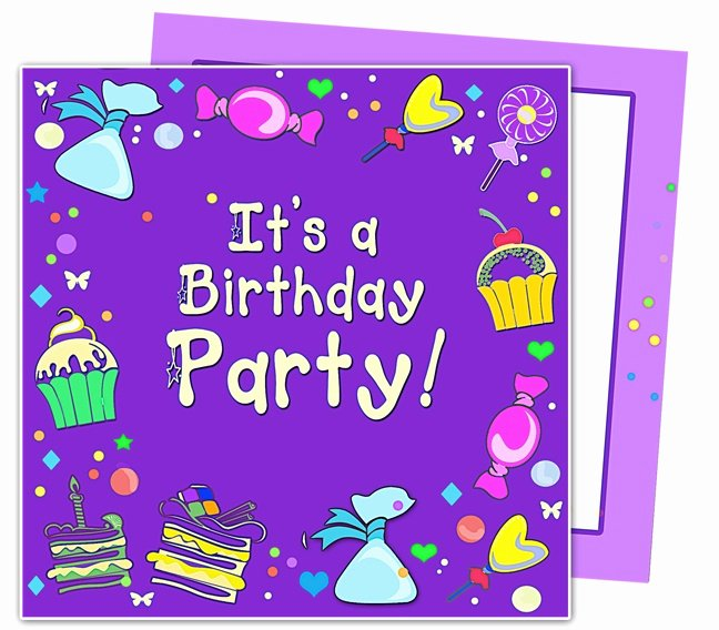 Kids Party Invitation Template Fresh 23 Best Images About Kids Birthday Party Invitation