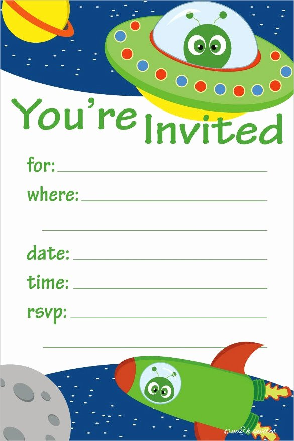 Kids Party Invitation Template Inspirational 40 Kids Birthday Invitation Templates – Psd Ai Word