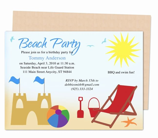Kids Party Invitation Template Luxury 23 Best Images About Kids Birthday Party Invitation