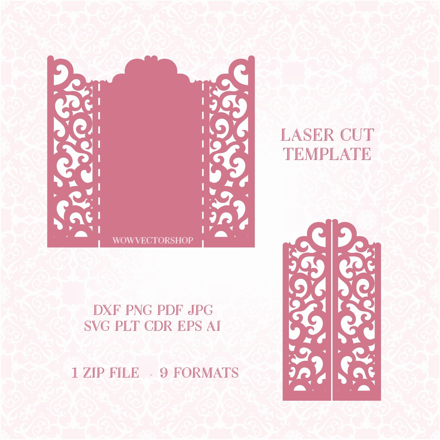 Lace Wedding Invitation Template Elegant Wedding Invitation Lace Card Template Quinceanera Invitation