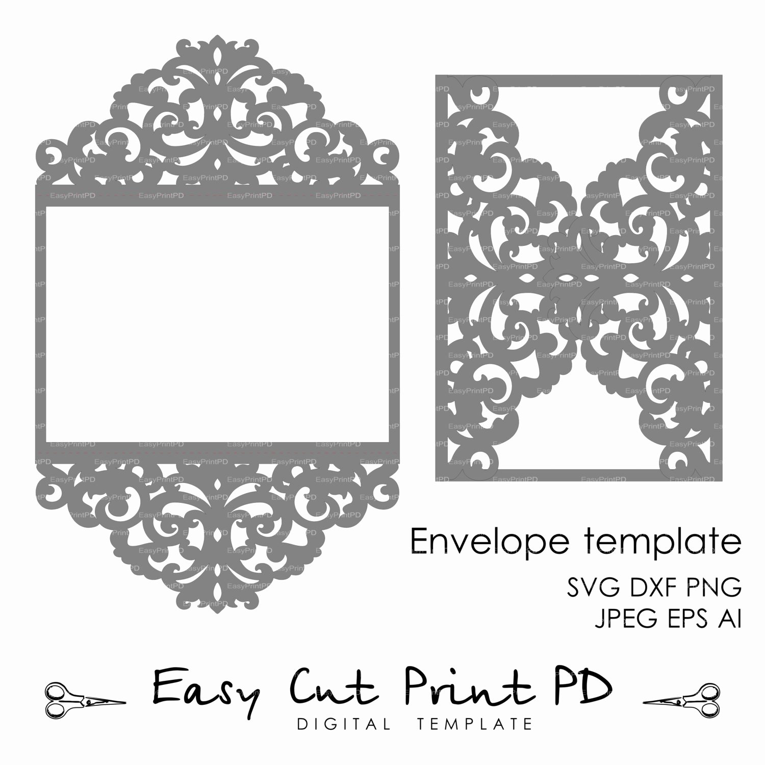 Lace Wedding Invitation Template Fresh Wedding Invitation Pattern Card Template Lace by